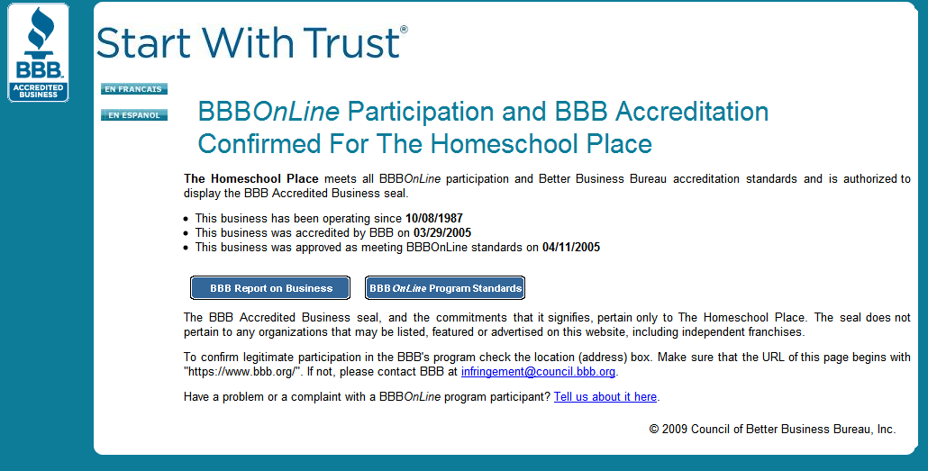 BBB_My Accreditation Certificate